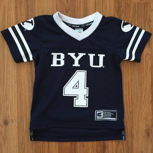 BYU Cougars NCAA TODDLER Sz 2T Football Jersey!